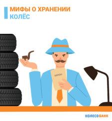 Мифы о хранении колёс (часть 1)